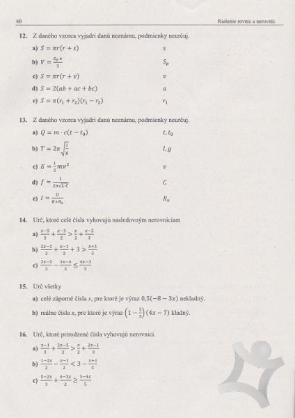 6216a589f Matematika - zbierka príkladov a testov - nová GENERÁCIA (Mgr. Michal  Sadloň, Mgr ...