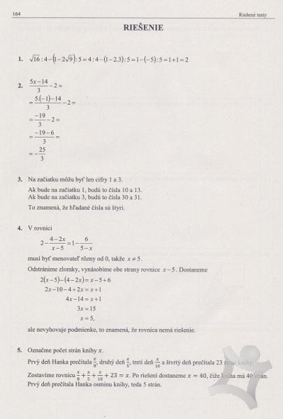 f1bf89508 ... Matematika - zbierka príkladov a testov - nová GENERÁCIA (Mgr. Michal  Sadloň, Mgr ...