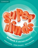 Super Minds Level 3 Workbook + Online Resources (Puchta, H.)