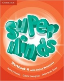 Super Minds Level 4 Workbook + Online Resources (Puchta, H.)