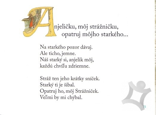 fcad7a75c Anjeličku, môj strážničku (Milan Rúfus) > kniha   PreSkoly.sk