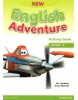 New English Adventure Level 1 Activity Book + Songs CD - pracovný zošit (Cristiana Bruni, Tessa Lochowski)