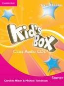 Kid's Box 2nd Edition Starter Class Audio CDs (2) (Michael Tomlinson, Caroline Nixon)