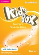 Kid's Box 2nd Edition Starter Teacher's Resource Book with Online Audio (Caroline Nixon, Michael Tomlinson)