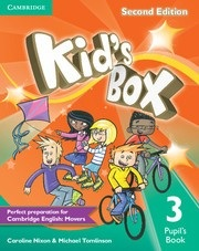 Kid's Box 2nd Edition Level 3 Pupil's Book - Učebnica (Michael Tomlinson, Caroline Nixon)