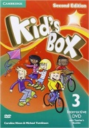 Kid's Box 2nd Edition Level 3 Interactive DVD with Teacher's Booklet (Caroline Nixon, Michael Tomlinson)