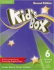 Kid's Box 2nd Edition Level 6 Activity Book with Online Resources (Caroline Nixon, Michael Tomlinson)