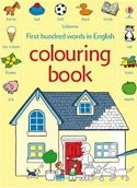 First hundred words colouring book (Usborne) (Amery, H.)