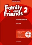 American Family and Friends 2 Teacher's Book + CD-ROM (Simmons, N. - Thompson, T. - Quintana, J.)