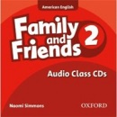 American Family and Friends 2 Class CD (Simmons, N. - Thompson, T. - Quintana, J.)