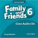 American Family and Friends 6 Class CD (Simmons, N. - Thompson, T. - Quintana, J.)