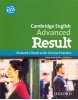 Cambridge English Advanced Result Student´s Book + Online Practice (Kathy Gude and Mary Stephens)