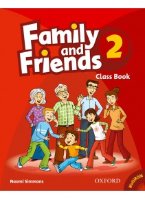Family and Friends 2 Class Book and MultiROM - učebnica (Simmons, N.)
