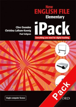 New English File IPack Multiple-computer/network Elementary level (CD-ROM) (Oxenden, C. - Latham-Koenig, Ch.)