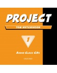 Project 1 Class Audio CDs (Hutchinson, T.)