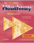New Headway, 3rd Edition Elementary Workbook with Key (Soars, J. + L.)