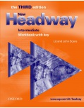 New Headway, 3rd Edition Intermediate Workbook with Key (Soars, J. + L.)