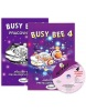 Busy Bee 4 (MEGA SET) učebnica + PZ + CD