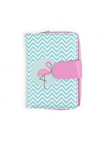 Dizajnová peňaženka - Plameniak  3a95a3ea703