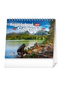 Rozprávkové Slovensko - stolový kalendár 2019   kniha  33a12b74b1