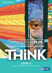 Think Level 4 Presentation Plus DVD-ROM