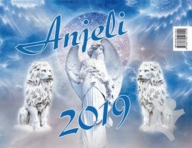 Anjeli - stolný kalendár 2019   kniha  542a8787da