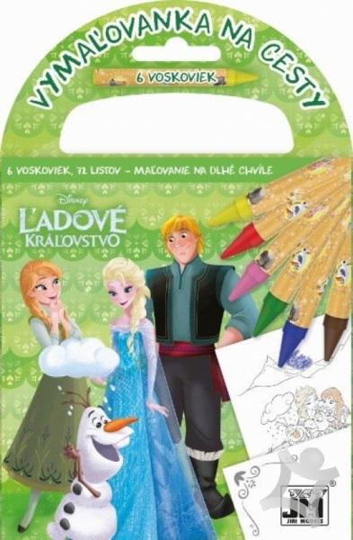 c4962dca3 Vymaľovanka na cesty/ Ľadové kráľovstvo 2 (Disney) > kniha | PreSkoly.sk