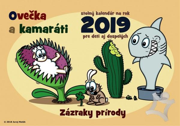 Ovečka a kamaráti 2018 ( Zázraky prírody ) (Juraj Maták)   kniha ... 3fa4bc9996