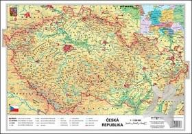 Cr Fyzicka Kraje Mapa A3 Geograficka Mapa Pre Zakladnu Skolu