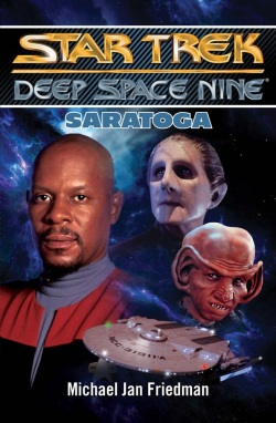 Saratoga (Star Trek Deep Space Nine) (Michael Jan Friedman)