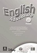 English Adventure Starter A Posters - plagáty (Cristiana Bruni)