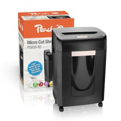 PEACH Skartovač Micro Cut Shredder PS600-85