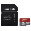 SanDisk Micro SDXC Ultra card 64GB 100 MB/s A1