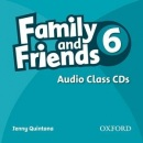 Family and Friends 6 Class Audio CDs (Quintana, J.)