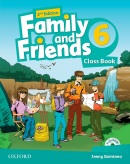 Family and Friends 2nd Edition Level 6 Class Book (2019 Edition) - Učebnica