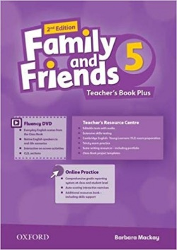 Family and Friends 2nd Edition Level 5 Teacher's Book Plus (2019 Edition)- metodická príručka (Simmons, N. - Thompson, T. - Quintana, J.)