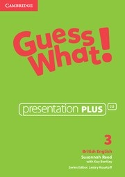 Guess What! Level 3 Presentation Plus DVD