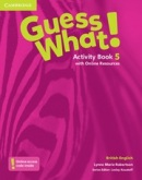 Guess What! Level 5 Activity Book with Online Resources - Pracovný zošit