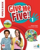 Give Me Five! Level 1 Pupil's Book +Navio App - učebnica (R. Sved, J. Ramsden, D. Shaw)