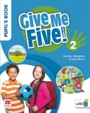 Give Me Five! Level 2 Pupil's Book +Navio App - učebnica (R. Sved, J. Ramsden, D. Shaw)