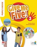 Give Me Five! Level 3 Pupil's Book +Navio App - učebnica (R. Sved, J. Ramsden, D. Shaw)