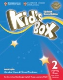 Kid's Box Updated 2nd Edition Level 2 Activity Book + Online Resources - Pracovný zošit