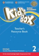Kid's Box Updated 2nd Edition Level 2 Teacher's Resource Book with Online Audio