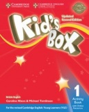 Kid's Box Updated 2nd Edition Level 1 Activity Book with Online Resources - Pracovný zošit