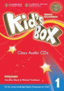 Kid's Box Updated 2nd Edition Level 1 Class Audio CDs (4)