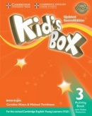 Kid's Box Updated 2nd Edition Level 3 Activity Book with Online Resources - Pracovný zošit