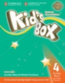 Kid's Box Updated 2nd Edition Level 4 Activity Book with Online Resources - Pracovný zošit
