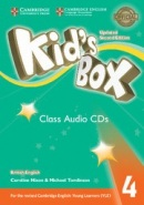 Kid's Box Updated 2nd Edition Level 4 Class Audio CDs (3)