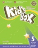 Kid's Box Updated 2nd Edition Level 5 Activity Book with Online Resources - Pracovný zošit