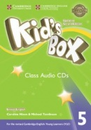 Kid's Box Updated 2nd Edition Level 5 Class Audio CDs (3)